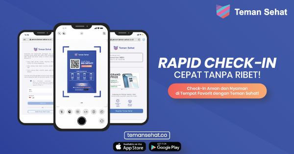 Check-in System Teman Sehat