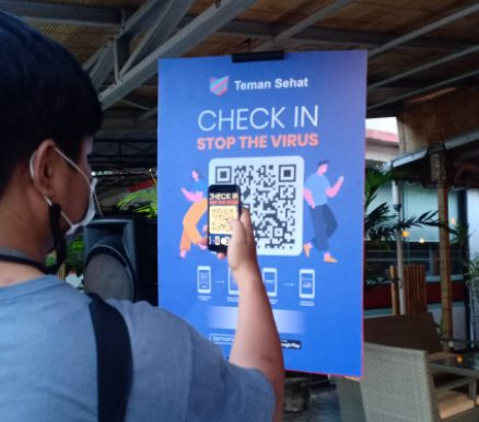 QR Code Check-in is fast and easy
