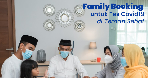 family booking tes covid19